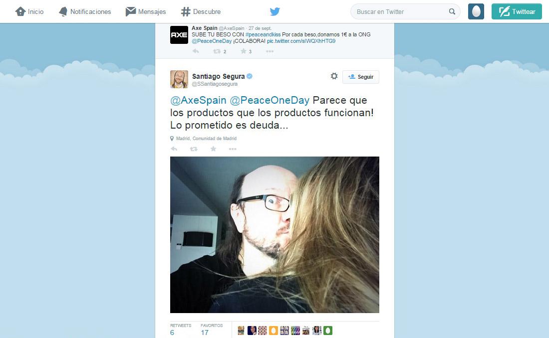 Axe Spain Twitter