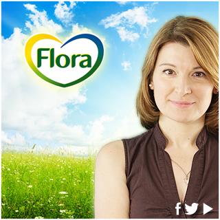 Flora social media