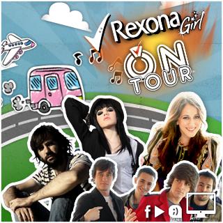 Rexona GIrl. On tour