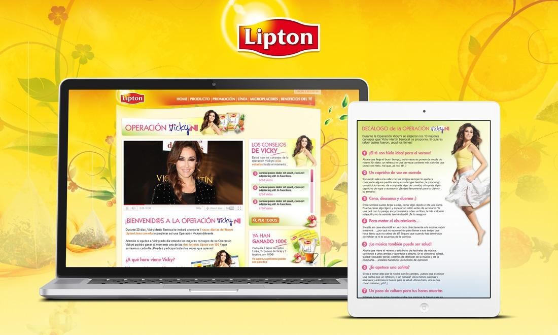 Lipton - Operación Vickyni