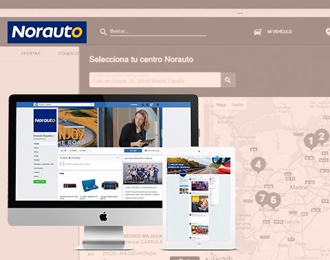 Norauto   Social Media